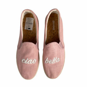 Soludos Pink Ciao Bella Espadrille Loafers